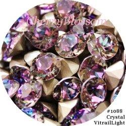 画像1: スワロフスキー Crystal Vitrail Light*特注色 チャトン