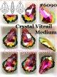 スワロフスキー Crystal Vitrail Medium*特注色